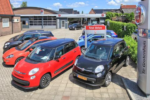 Autobedrijf te Grootenhuis Woudenberg